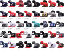 Wholesale Penguin Hat Adult - 160 styels Casquettes NHL snapback hat Blackhawks Penguins Flyers Sharks men women adult sports hip hop street outdoor sun baseball cap
