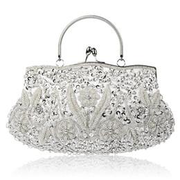 Vintage sac à main de soirée de broderie femme sac de mariage strass embrayage parti cristal femmes embrayage banquet perlé sacs à main ? partir de fabricateur