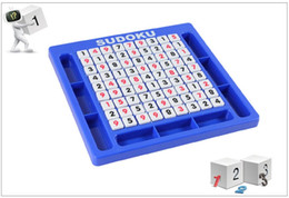 Wholesale Cube Games Free - Sudoku Cube Number Game Sudoku Puzzles for Kids Adult Math Toys Puzzle Table Game Children Learning Educational Toys DHL free shipping
