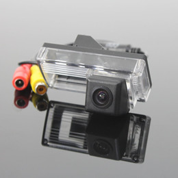 Wholesale Door Ccd - HD Car CCD RCA NTST License Plate Light OEM   Rear View Camera For Toyota Land Cruiser 120 Prado 2002~2009 (No Spare Wheel on back door)