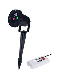 Wholesale Pattern Controller - 12 In 1 Laser Stage Light Red Green Firefly Lamp Projector 12 Patterns Elf Lighting + Remote Controller for Xmas Outdoor