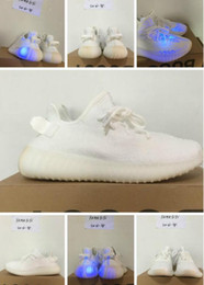 Wholesale 2017 New V2 Cream White V2 shoes Size with box best quality shoes Euro size man woman sneakers right version fashion shoes