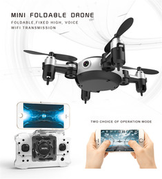 Wholesale Remote Helicopters Toys - YiSailing NEW Professional RC Helicopter KY901 WiFi FPV RC Quadcopter Mini Dron Foldable Selfie Drone with HD wifi Camera RC toy vs H37 H31