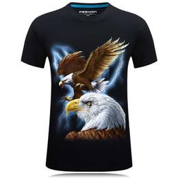 Wholesale T Shirt Color Skull - 2017 Summer New fashion design t shirt 3d men funny Animals Skull Print O-Neck Tees for male Short Sleeve Hip Hop Brand Shirts Tops