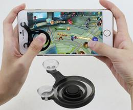 Wholesale Smart Clip Box - Fling mini Mobile Joystick Dual analog joysticks Smart Clip for samrtphone gaming with Retail Box free ship