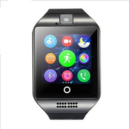 Wholesale Smart Watch Wholesale - Q18 Bluetooth Smartwatch Support SIM Card NFC Connection Health Smart Watches For Android Smartphone with Retail Package