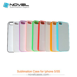 Wholesale Wholesale Sublimation Bags - Mobile Accessories Parts Mobile Bags Cases Free Shipping Best Selling 2D Sublimation Plastic Phone Cover for iPhone5 5S SE, DIY Phone Case