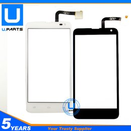 Wholesale Iq Iphone - Wholesale- Black Color ! Touch Panel For Fly IQ4514 Evo Tech 4 IQ 4514 Touch Screen Front Sensor Replacement 1PC Lot