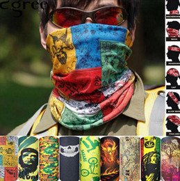 Wholesale Men Houndstooth Scarf - Bandanas Multifunctional Outdoor Cycling Scarf Magic Turban Sunscreen Hair band DHL Fast Shipping