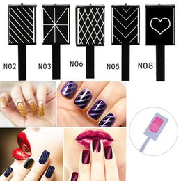 Wholesale magic magnetic nails - Wholesale-Nail Art Tool for DIY Magic 3D Magnetic Polish Cats Eyes #M01914