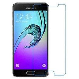 Wholesale Galaxy S4 Anti Retail - Samsung Galaxy S5 S4 mini Top Quality Tempered Glass Screen Protector for Samsung Galaxy S6 0.26MM 2.5D with retail box