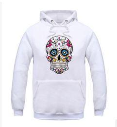 Wholesale Skull Head Sweater - Skull head men's clothing Men's Sportswear Sweater Set Casual Men's Sweater mens hoodies sweatshirts