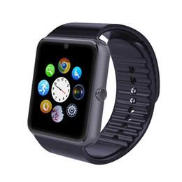 DHL Бесплатная доставка оригинальный Смарт-электроника Часы GT08 Bluetooth Камера Наручные Часы SIM-карты SmartWatch Для Android Для Iphone от Поставщики бесплатные электронные карты