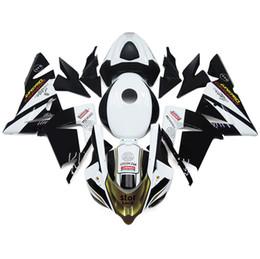 Carene complete per Kawasaki ZX10R Anno 2004 2005 Iniezione ABS Bianco Oro Nero da yamaha fimer fornitori