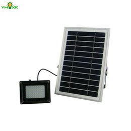 Wholesale Spotlight For Wedding - Wholesale- Solar Reflector Spotlight Flood Lights Security Lighting for Outdoor Home Garden Wedding Pathway Christmas Party Tree Flag Yard