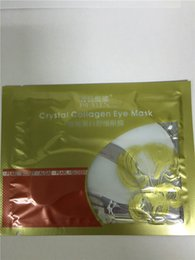 Wholesale Eye Patch Sleep Mask - 2000PCS PILATEN Crystal Collagen Women Eye Mask Collagen Gel Protein Face Care Sleep Patches Macka Aquagel DHL Freeship