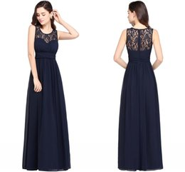 Wholesale Designer Wedding Gowns Chiffon - 2018 Country Cheap Bridesmaid Dresses for Wedding Long Chiffon A-Line Formal Dresses Modest Maid Of Honor Wedding Guest Party Gowns CPS614