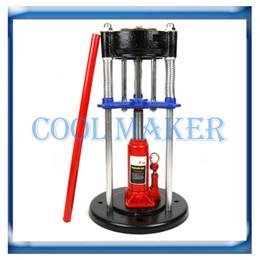 Wholesale auto air condition compressor - Auto air conditioning Hose Crimper Handheld Tool universal 4 ton jack repair machine