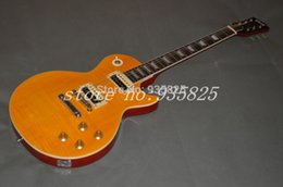 Wholesale Slash Body Yellow - Free Shipping Slash Appetite Natural yellow burst Guitar SLASH electric guitar Wholesale