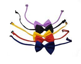 Wholesale Dog Bandanas Collars - Cute Dog Cat Pet Puppy Adjustable Neck Collar Bowknot Bow Tie Necktie