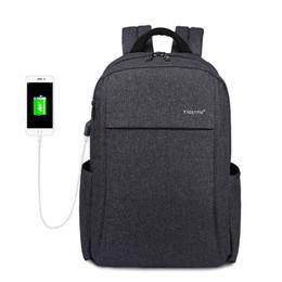 Wholesale American Usb - 2017 Anti-theft USB charging Men 15.6inch Laptop Backpack Women Backpack Mochila School Backpack Bag Casual Laptop Bag