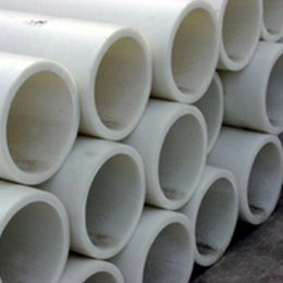 Wholesale Meter Industrial plastic pipe White PP Pipe Model Hollow Tubing DIY Handmade Parts