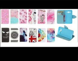 Wholesale Iphone 3g Wallet Cases - Tower Cat Windbell Bear Elephant Wallet Leather Huawei P9 case holder stand for Wiko Rainbow Jam 3G