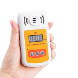Wholesale Alarms Meter - Wholesale- New Come KXL-601 Mini Carbon Monoxide Detector Meter CO Gas Meter With Sound And Light Alarm Leak Detector
