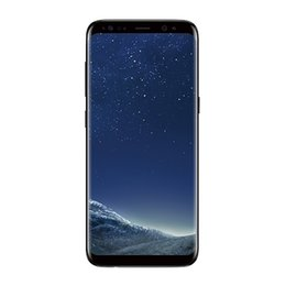 Wholesale Phone Videos - Goophone S8 plus unlocked phone quad core 1G ram 4G rom 5.8 inch full Screen Show 128GB fake 4g lte Android Smartphone GPS WIFI
