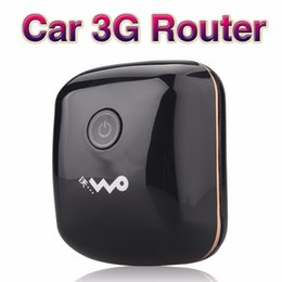 Wholesale Router 3g - 3G Mobiele Wifi Hotspot Auto USB Modem 7.2Mbs Universele Breedband Mini Wi-fi Routers Mifi Dongle met Sim-kaartsleuf