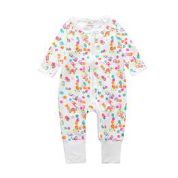 Wholesale Boys Christmas Pajamas 12 - Free shipping children pajamas baby coveralls newborn baby long sleeve pajamas cotton rompers boys girls autumn suit 2017
