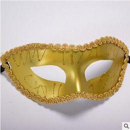 Wholesale Nobles For Sale - For Sale Paintwork Dame Masks For Ladys Women Elegant Noble Masquerade Mask Graduating Party Masks Costume Party Princess Masks 9 Color