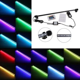 Wholesale Led Strip Lights For Aquarium - High Quality Waterproof IP68 Underwater LED Strip Light Aquarium Fish Tank 52.5cm 6.5W 5050 SMD RGB Lamp for Christmas Decoration DEL_01G