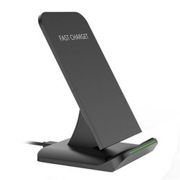 Wholesale Galaxy Charger For Sale - Hot-sale A13 Phone Wireless Charger Qi Wireless Fast Charger Quick Charging Stand For Samsung Galaxy S8   S8 Plus Gifts