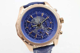 Wholesale Brand Certified - Luxury Brand Top Quality Flying Motors Special Edition Certified Chronomeler Mens Watch Quartz Movement Chronograph Earth Net Skeleton watch