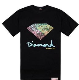 Wholesale diamond supply shirts free shipping - 2018 New Diamond Supply T Shirts Men Women Hip Hop Men Skateboard T-shirt Short Sleeve Cotton Tops Free Shipping