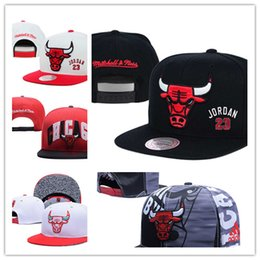 Wholesale Basketball Snap Backs - Newest Arrival wholesale price Fashion Chicago Adjustable Bulls Snapback Hat Thousands Snap Back Hat For Men Basketball Cheap Baseball Cap