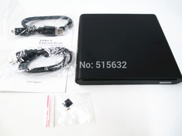 Wholesale External Slim Enclosure - Wholesale- External USB Slim Slot DVD +RW CD+RW DL Writer Burner Drive For PC Laptop enclosure case