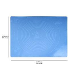 tapete de rolamento de silicone grande Desconto Grande Silicone Baking Rolling Mat para Bolo De Glacê De Confeiteiro Fondant Mat Pad Bakeware Bolo Ferramenta de boa qualidade