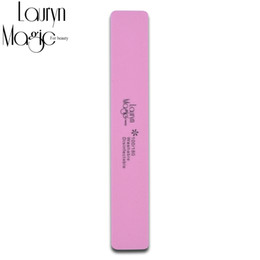 Wholesale Sell Nail Files Wholesale - Wholesale- Best selling 1pcs Double Side 100 180 High Quality Nail File Buffer Sanding Washable Manicure Tool