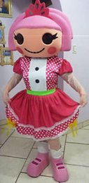 Wholesale Lalaloopsy Costumes Adults - Lalaloopsy Mascot Costume custom cartoon character cosply adult size carnival costume fancy dress party kits 236