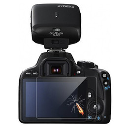 Canada Vente en gros-Protecteur d'écran HD en verre trempé Canon EOS Rebel SL1 100D supplier wholesale eos Offre