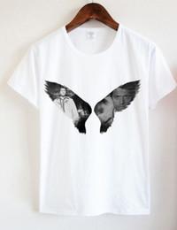 Wholesale Winchester Shirt Xl - Supernatural Dean And Sam Winchester T Shirt Women Supernatural Wings Tee size S-2XL