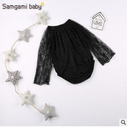 2017 vêtements les plus récents Lace Romper 2017 Le plus récent, à manches longues en dentelle Bébé Onesies Body Suit Baby Girl Rompers Toddler Outfit Infant Outwear Bodysuit Vêtements de bébé 93 vêtements les plus récents promotion