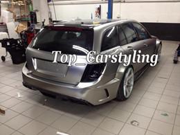 macchine avvolte in cromo Sconti Pellicola autoadesiva per auto in vinile satinato argento satinato con rivestimento in cromo satinato privo di bolle d'aria. Grafica per lo styling di copertina 1.52x20m rotolo 5X67ft