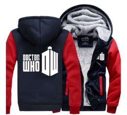 Wholesale Usa Personalities - Wholesale-New autumn and winter women and men sweatshirt hoodie personality dalek doctor who hoodie USA Size