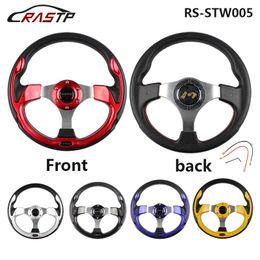 Wholesale Drifting Steering - 320MM 13 Inch MOMO Racing Car PVC Modification Mini Drifting Steering Wheel RS-STW005