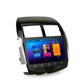Wholesale Mitsubishi Navigation Dvd - Octa Core Android 6.0 Car Radio for Mitsubishi ASX for Peugeot 4008 for Citroen C4 Autoradio Media Stereo GPS Navigation Sat Navi NO DVD