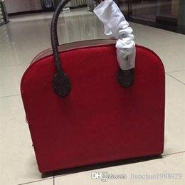 Wholesale Horse Hair Leather Handbags - luxury famous brand bags for women Horse hair rivet bag women bag leather L* women handbag free shipping m41234 M40113 M40158