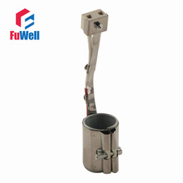 Wholesale Solar Wholesalers Heaters - Connectors Terminals Solar Controllers 30mmx50mm Electric Circular Mica Heating Band Heater 150W 220V AC Heating Element